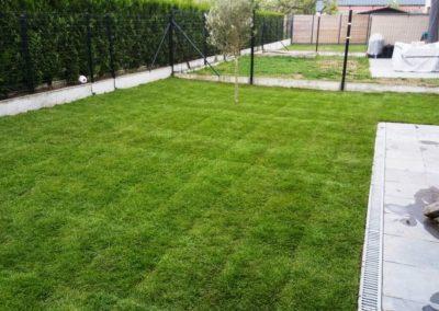 130 m² Aanleg van tuin